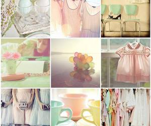 colors, summer, and vintage image