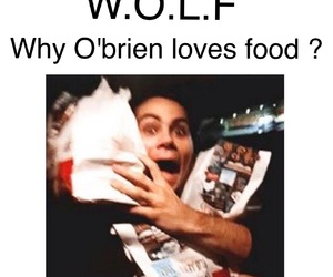 food, teen wolf, and dylan o'brien image