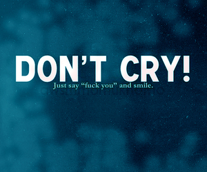 blue, cry, and smile image