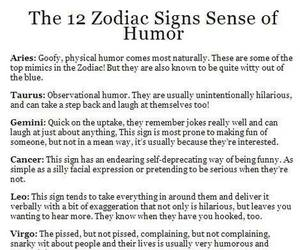 astrology, horoscope, and humor image