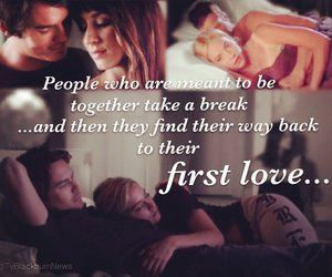 always & forever, caleb, and first love image