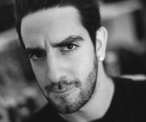 all time low, jack barakat, and black and white image