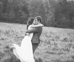 photography, wedding, and black and white image