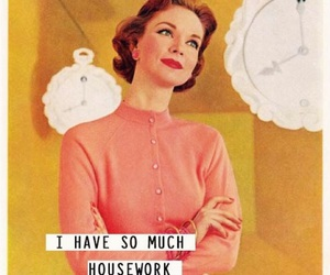 vintage and housework image