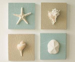 decoracion, estrellas, and mar image