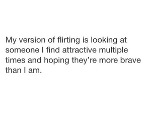 attractive, flirting, and quotes image