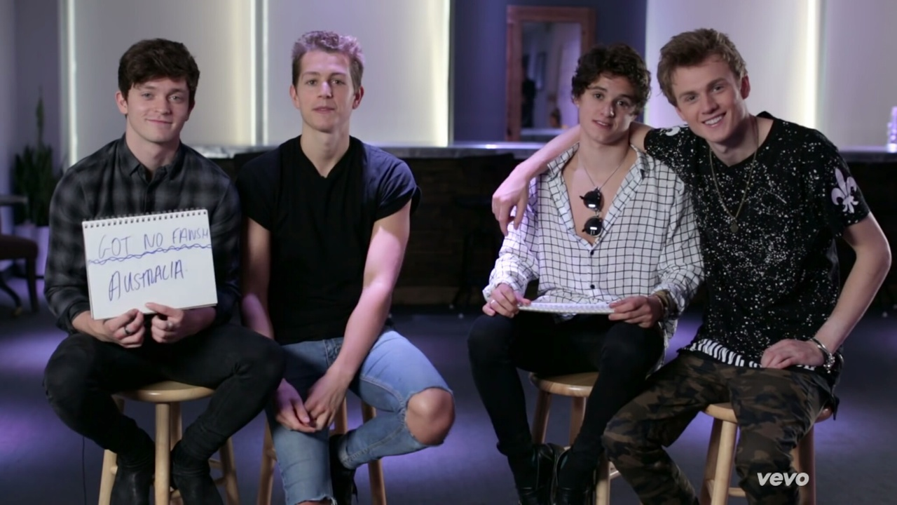 band, the vamps, and tristan evans image