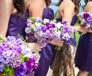 girl, bridesmaid, and wedding image