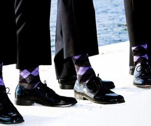 argyle, fashion, and groom image
