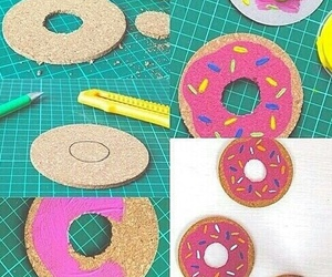 donuts, diy, and creative image