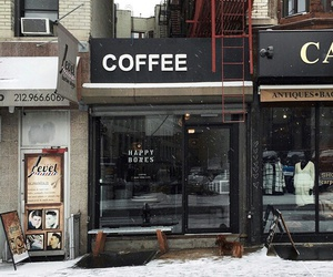 coffee, tumblr, and winter image
