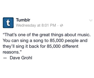 music, david grohl, and quotes image