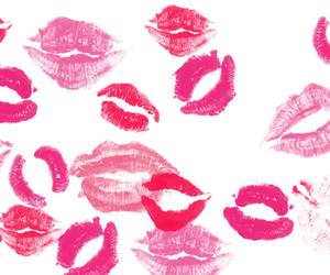kiss, lips, and lipstick image