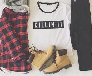 fashion, lifestyle, and killin' it image