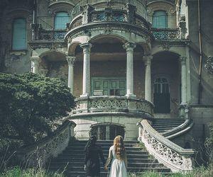 dark, fantasy, and vintage image