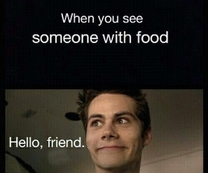 food, funny, and teen wolf image