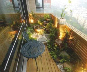 balcon, cool, and plants image