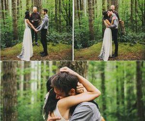 bride, cute couple, and romantic image
