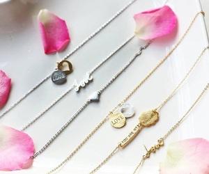 bracelets, fashion, and flower image