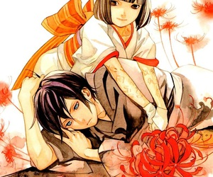 noragami, yato, and manga image