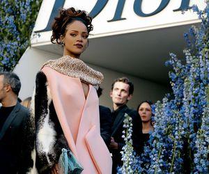 rihanna, dior, and fashion image