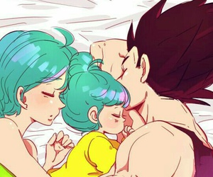 vegeta, anime, and bra image