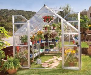 szklarnia, palram, and uprawa roślin image