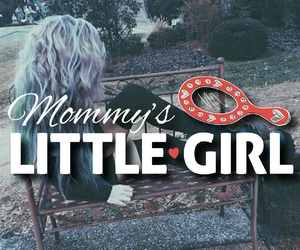 mommy, wallpaper, and litlle girl image