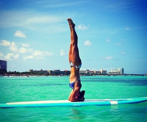 summer and yoga image