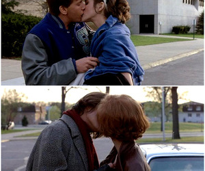 Breakfast Club, couple, and kiss image
