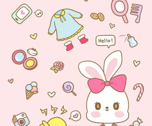 cartoon, illustration, and kawaii image