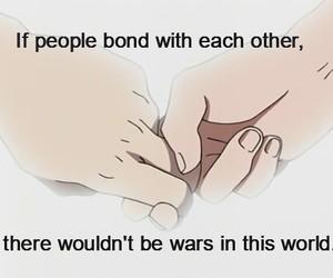 bond, peace, and war image