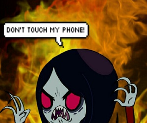 cool, marceline, and adventure time image