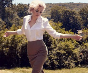 michelle williams, my week with marilyn, and vogue image