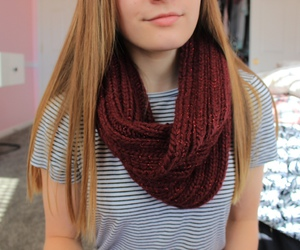 quality, scarf, and tumblr image