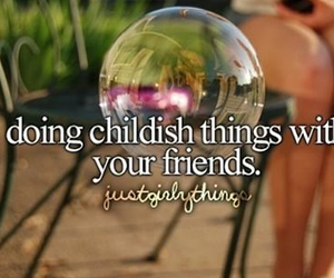 friends, childish, and just girly things image