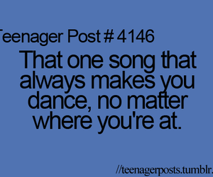 dance, song, and quote image
