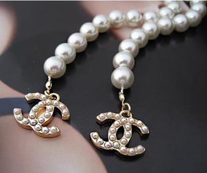 chanel, pearls, and accessories image