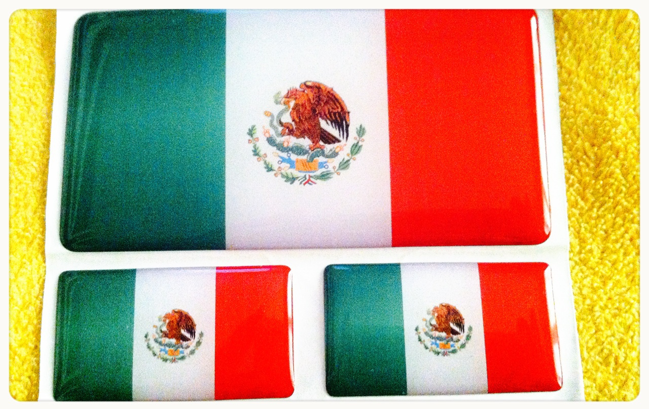 flag, mexico, and stickers image