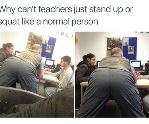 teacher and funny image