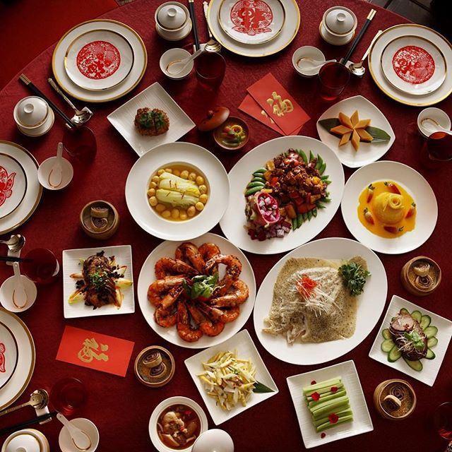 chinese food, chinese new year, and singapore image