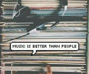 music, people, and quotes image