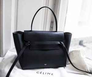 celine, bag, and black image