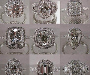 diamonds, engagement, and expensive image