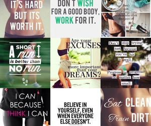 fitness, fit, and happiness image