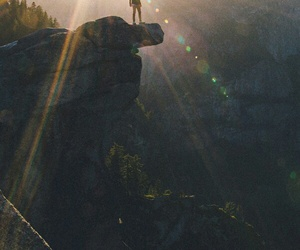 sun, mountains, and nature image