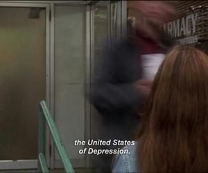 depression, sad, and grunge image