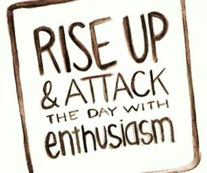 quote, enthusiasm, and life image