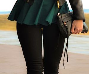fall, fashionable, and outfit image