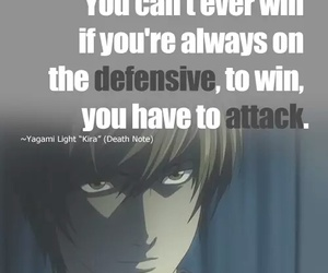 anime, death note, and quotes image